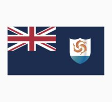 FLAGS OF THE WORLD / A-F / Anguilla Kids Clothes