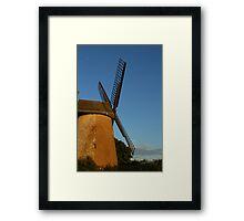 Bembridge Windmill Framed Print