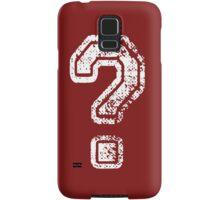 Question Mark - style 5 Samsung Galaxy Case/Skin