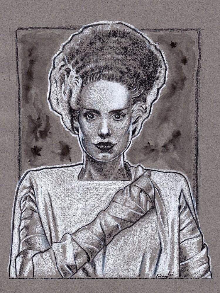 Bride Of Frankenstein by jasonkincaid
