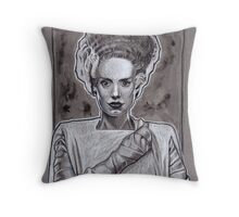 Bride Of Frankenstein Throw Pillow