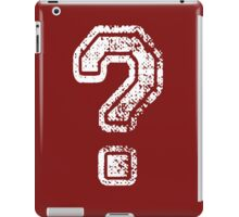 Question Mark - style 5 iPad Case/Skin