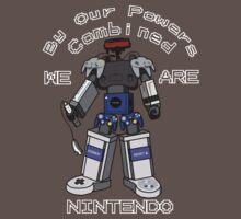 Nintendo Megazord by ChronoStar