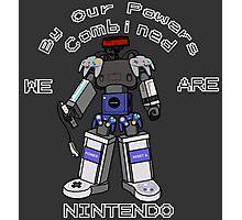 Nintendo Megazord Photographic Print