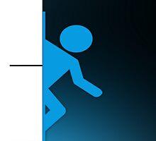 Portal Phone Case -  (2 of 2) by HalfFullBottle
