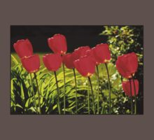 tulip impressions One Piece - Short Sleeve