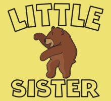 Little Sister Bear One Piece - Short Sleeve