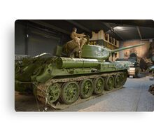 Soviet T34/85 Main Battle Tank Canvas Print