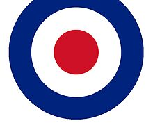RAF Royal Air Force roundel; pure & simple by TOM HILL - Designer