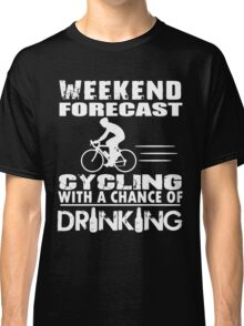 CYCLING WITH DRINKING Classic T-Shirt