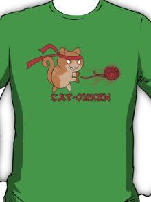 Cat-Ouken  (with Text) T-Shirt