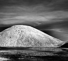 Silbury Hill Infrared by Paul Woloschuk