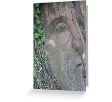 Tree Woman Greeting Card