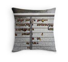 Love Locks - Bamberg, Germany Throw Pillow