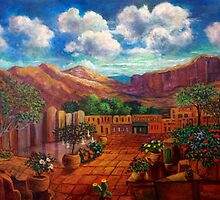 The Heart of Old Mexico by Randy  Burns