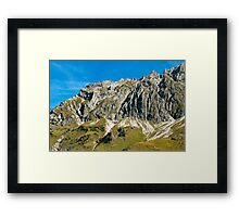 Wiedemerkopf, Allgaeu Framed Print