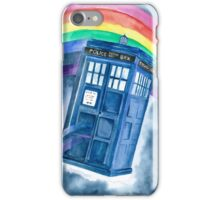 Sci Fi  inspired by The Doctor iPhone Case/Skin