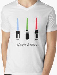 Wisely choose Mens V-Neck T-Shirt