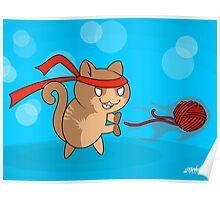 Cat-Ouken Poster