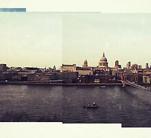 View of St. Paul's Cathedral from the Tate Modern, London by VerticalCat