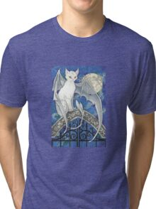 The Watcher at the Gate Tri-blend T-Shirt