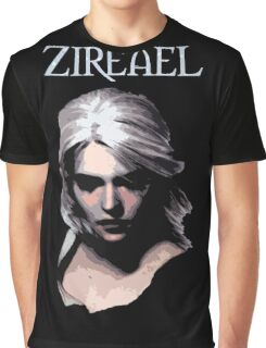 The Witcher - Ciri Zireael Graphic T-Shirt