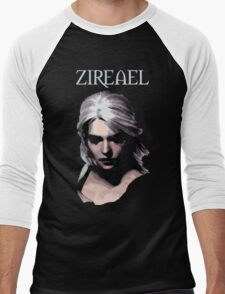 The Witcher - Ciri Zireael Men's Baseball ¾ T-Shirt