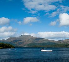 Loch Lomond by Anne Gilbert