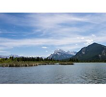Vermilion Lake Photographic Print