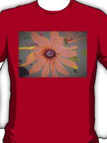 Light orange flower design T-Shirt