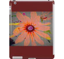 Light orange flower design iPad Case/Skin