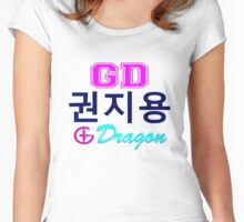 ♥♫Big Bang G-Dragon Cool K-Pop GD Clothes & Phone/iPad/Laptop/MackBook Cases/Skins & Bags & Home Decor & Stationary♪♥ Women's Fitted Scoop T-Shirt