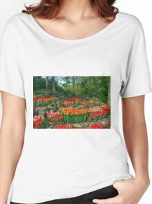 Tulip Rocks  Women's Relaxed Fit T-Shirt