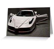 """Katyusha"" -  a Tuned Ferrari  458 Italia. Geneva Auto Salon 2014 Greeting Card"