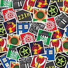 Nerd's Stamp Collection--Requested by Anonymous by mcgani