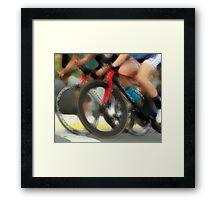 Women on Speed  Framed Print