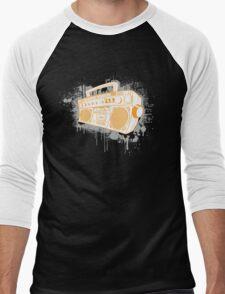ghetto blaster Men's Baseball ¾ T-Shirt