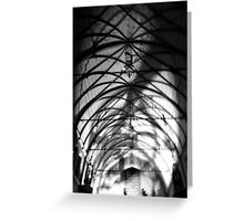 In The Chapel Greeting Card