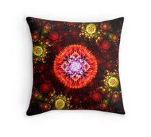 Colorful Baubles Throw Pillow