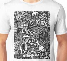 World City Doodle Unisex T-Shirt