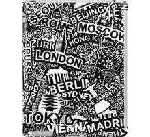World City Doodle iPad Case/Skin
