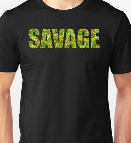 SAVAGE (KUSH Texture) Unisex T-Shirt