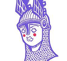Viking Queen by motoko-yo