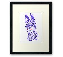 Viking Queen Framed Print