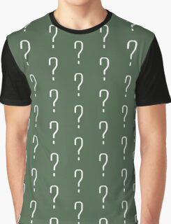 Question Mark - style 6 Graphic T-Shirt