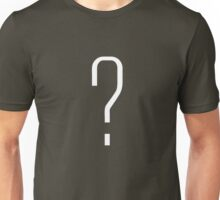 Question Mark - style 6 Unisex T-Shirt