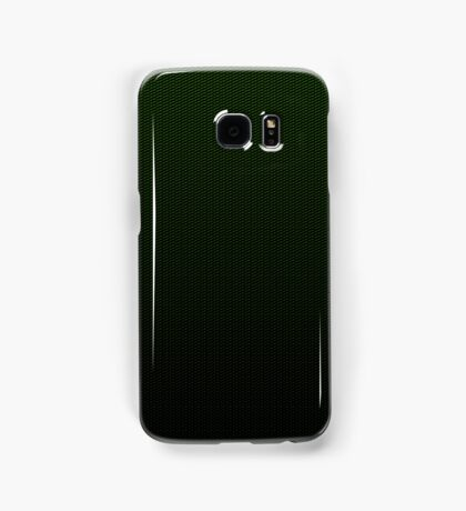 Carbon fibre green pattern Samsung Galaxy Case/Skin