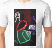 """I Plugged My Wife in Just for Show..."" by Richard F. Yates Unisex T-Shirt"