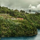 Blue Lake Mount Gambier by Julie Eustace