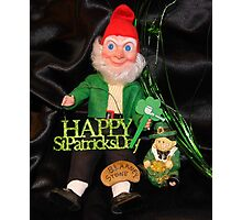 St. Patrick's Day Still Life Photographic Print